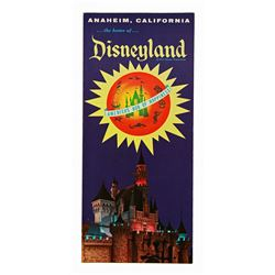Anaheim California Disneyland Tourist Brochure Pamphlet