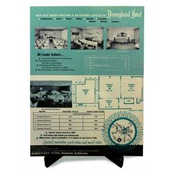 Rare 1956 Disneyland Hotel Facilities Sales Brochure