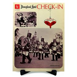 Disneyland Hotel CHECK-IN Magazine - December/January 1965-66