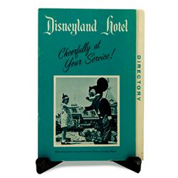 Disneyland Hotel TELEPHONE DIRECTORY
