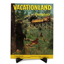 Disneyland Vacationland Magazine - FALL 1960