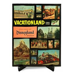 Disneyland Vacationland Magazine - FALL 1961