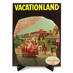 Disneyland Vacationland Magazine - SUMMER 1964