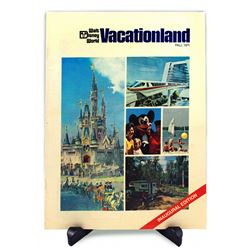 Walt Disney World Vacationland Magazine FIRST ISSUE - FALL 1971