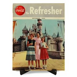 RARE 1955 Disneyland COCA-COLA The REFRESHER Magazine