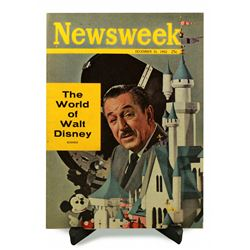 RARE 1962 Disneyland NEWSWEEK Magazine - THE WORLD OF WALT DISNEY