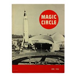 RARE 1956 Disneyland MAGIC CIRCLE Magazine