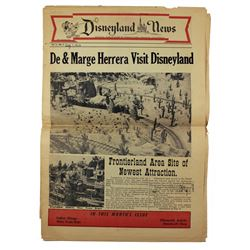 The DISNEYLAND NEWS August 1956 Vol.2-No.2 - Personalized Issue