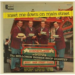 Disneyland MEET ME DOWN ON MAIN STREET by THE MELLOWMEN LP