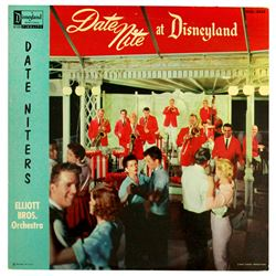DATE NITE AT DISNEYLAND LP  by The Elliott Brothers Orchestra