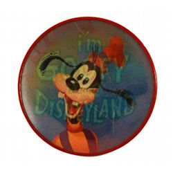 Disneyland I'M GOOFY FOR DISNEYLAND Vari-Vue Lenticular Button