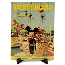 Disneyland Vacationland Magazine - SUMMER 1960
