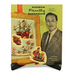 RARE 1955 Disneyland HUDSON Family Magazine - Preview of Disneyland