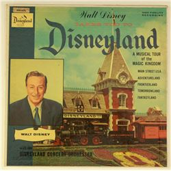 Ultra Rare WALT DISNEY TAKES YOU TO DISNEYLAND Tour Narration LP by Walt Disney