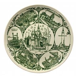1956 Disneyland Decorative Plate