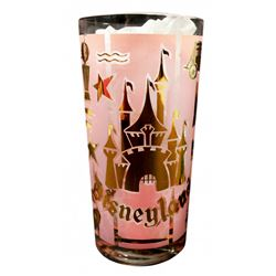 1958 Rare Disneyland Highball Drinking Glass