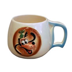 1956 Disneyland GOOFY Child's Ceramic Mug