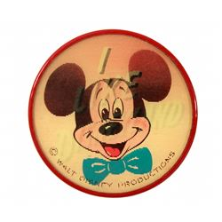 Disneyland Mickey Mouse I LIKE DISNEYLAND Vari-Vue Lenticular Button
