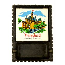 1964 Disneyland Iron & Tile Souvenir Ashtray