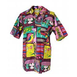 Disneyland - Vintage ENCHANTED TIKI ROOM Host Shirt - PATTERN A