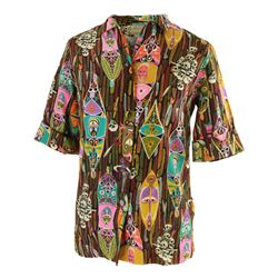 Disneyland - Vintage ENCHANTED TIKI ROOM Host Shirt - PATTERN B
