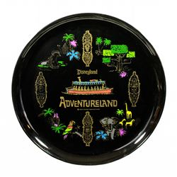 1964 Disneyland ADVENTURELAND Souvenir Tray
