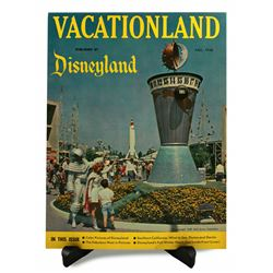 Disneyland Vacationland Magazine - FALL 1958 (FIRST ISSUE)