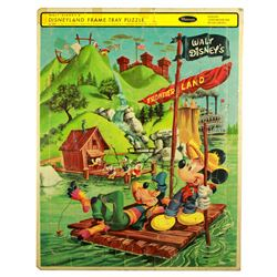 Whitman FRONTIERLAND Tom Sawyer Island Tray Puzzle