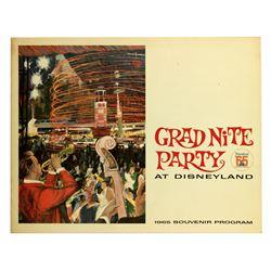 GRAD NITE '65 Program Folder