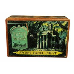 1966 Disneyland HAUNTED MANSION Souvenir SECRET PANEL CHEST