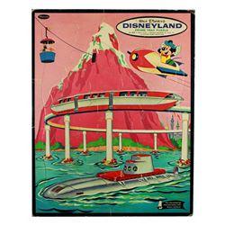 Whitman TOMORROWLAND Monorail Tray Puzzle