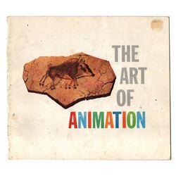 DISNEYLAND 1958 - THE ART OF ANIMATION Exhibit Souvenir Guidebook