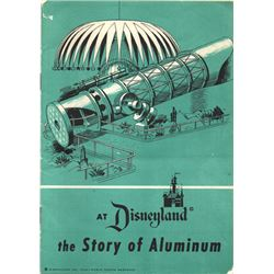 THE STORY OF ALUMINUM at Disneyland Exhibit Booklet
