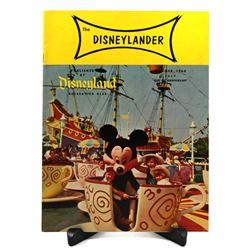 DISNEYLANDER MAGAZINE Backstage Cast Member Publication - SUMMER 1960