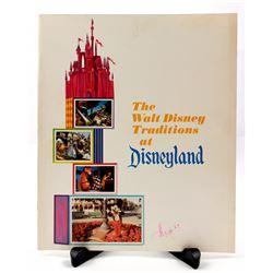 THE WALT DISNEY TRADITIONS at DISNEYLAND Cast Member Memorial/Inspirational Booklet