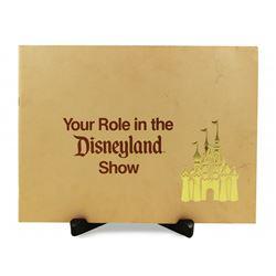 YOUR ROLE IN DISNEYLAND 1978 Cast-Member Standard Operating Procedures Booklet