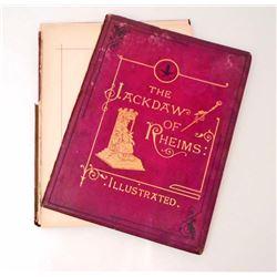 "1870 ""THE JACKDAW OF RHEIMS"" HARDCOVER BOOK"