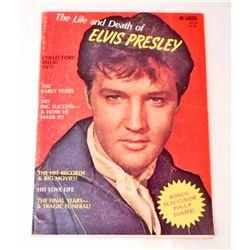 "1977 ""THE LIFE & DEATH OF ELVIS PRESLEY"" MANOR MAGAZINE"