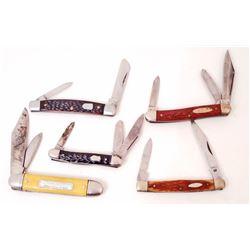 LOT OF 5 VINTAGE POCKET KNIVES