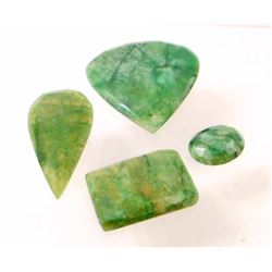 LOT OF 105.6 CTS OF EMERALDS