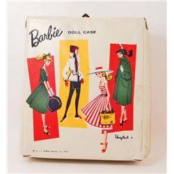 VINTAGE 1961 MATTEL BARBIE DOLL CASE