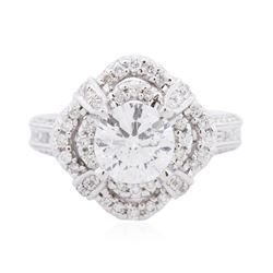 18KT White Gold 2.64 ctw Diamond Ring