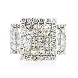 14KT White Gold 3.18 ctw Diamond Ring