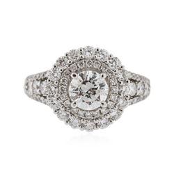 18KT White Gold 2.41 ctw Diamond Ring