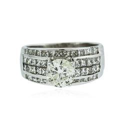 14KT White Gold 1.51 ctw I-1/K Diamond Ring