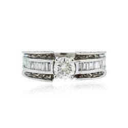 14KT White Gold 2.21 ctw Diamond Ring