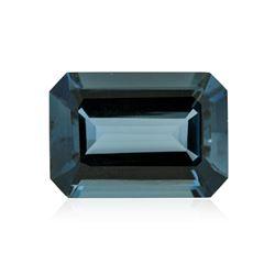 40.23 ctw. Natural Emerald Cut Blue Topaz