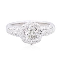 18KT White Gold 1.76 ctw Diamond Ring