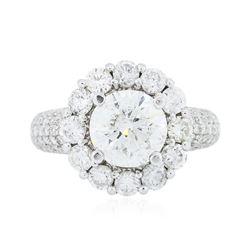 14KT White Gold 4.62 ctw Diamond Ring