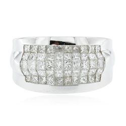 14KT White Gold 1.51 ctw Diamond Ring